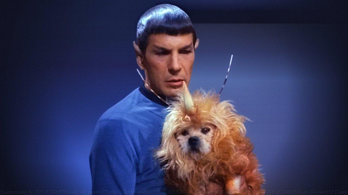 Rather good Leonard nimoy as spock