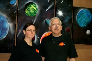 Dave and Jones the owners of Your Pet Space