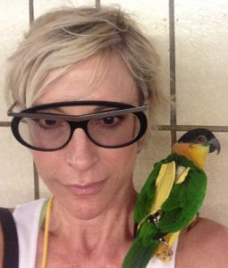 Parrot of Nana Visitor