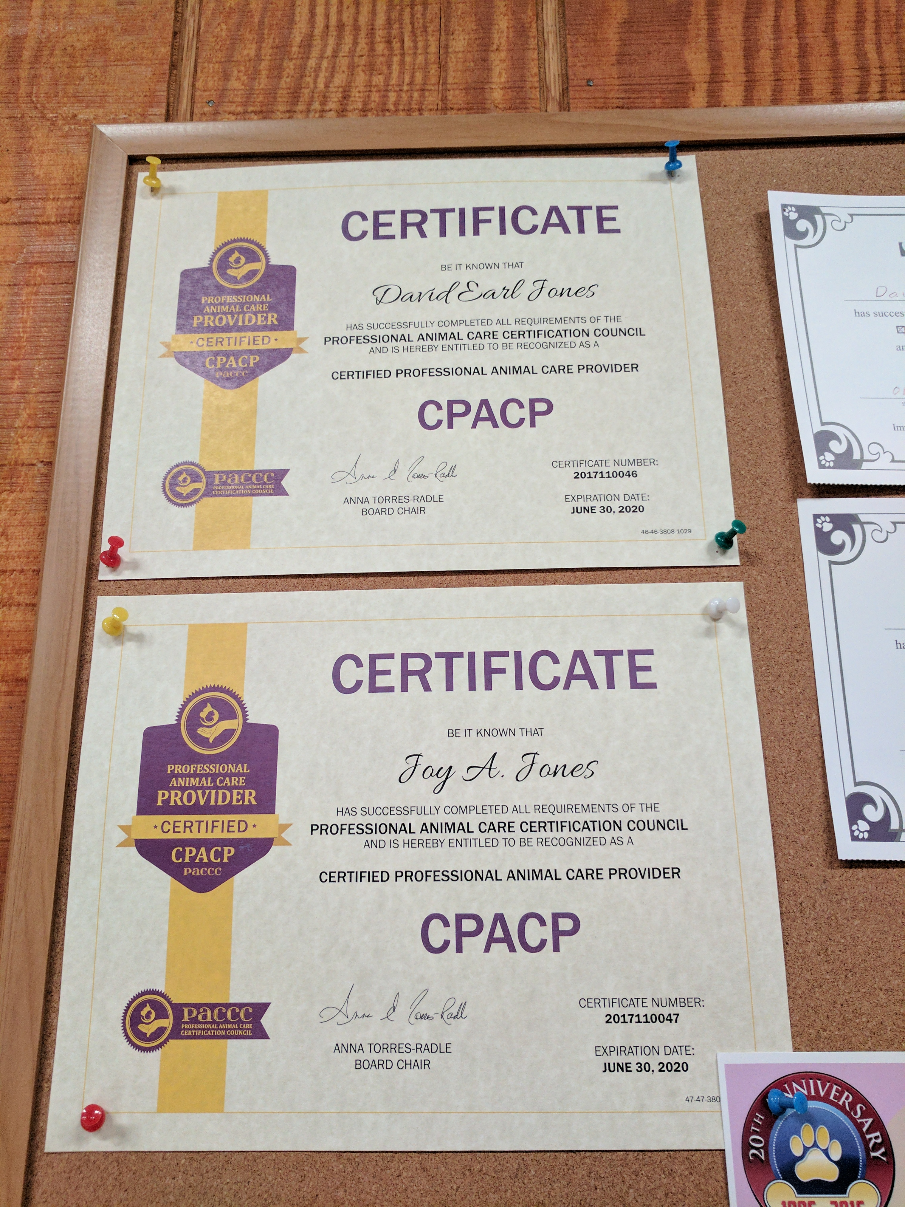 CPACP certs